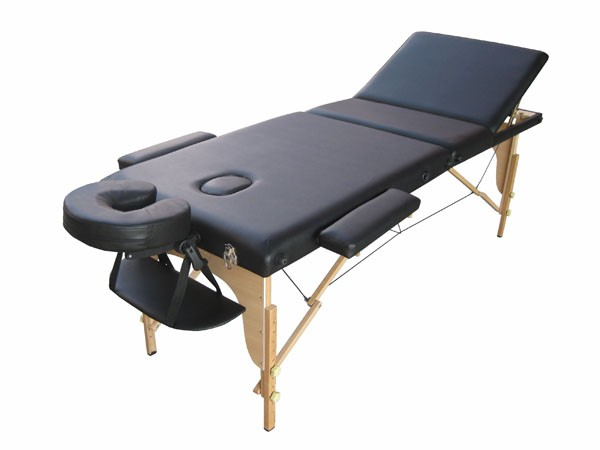 Massage Table And Chair portable massage table (reclineable back) :: facial beds & tables
