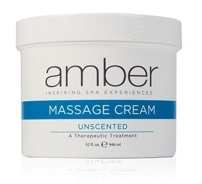 Amber Massage Cream Unscented