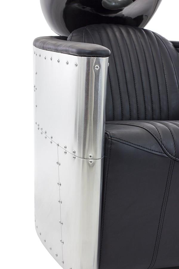 Aviator Vintage Aluminum Shampoo Chair