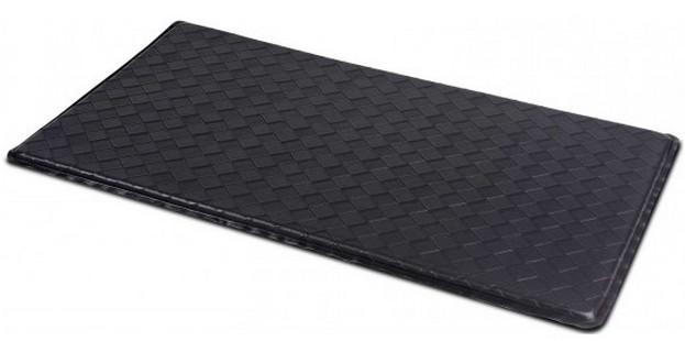 Black Anti-Fatigue Textured Floor Mat - 36\