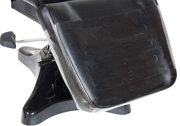Black Hydraulic Facial Chair With Free Beauty Stool