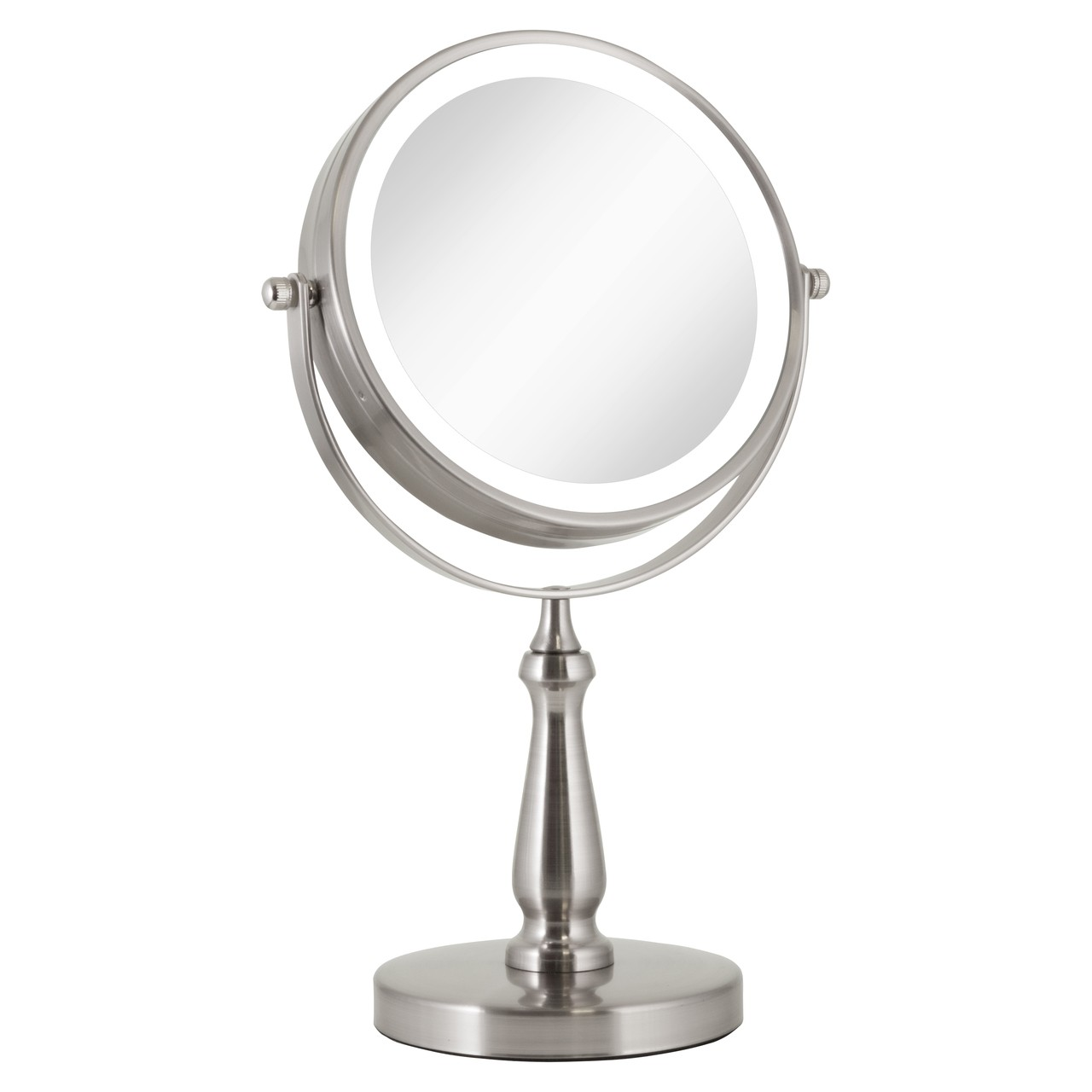 Zadro Led Lighted Dual Sided Vanity Mirror 1x 8x