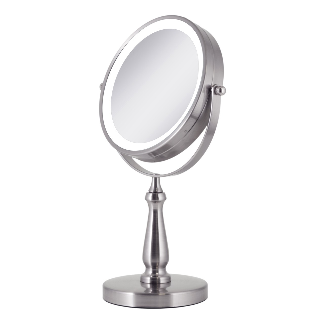 Vanity Led Light Mirror : Zadro LED Lighted Dual Sided Vanity Mirror 1X/8X