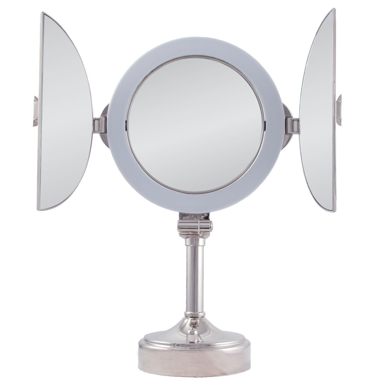 Zadro Surround Lighted Tri Fold Vanity Mirror Dual Sided