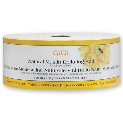 """GiGi Natural Muslin Roll 100 Yards And 3.25"""" Wide"""
