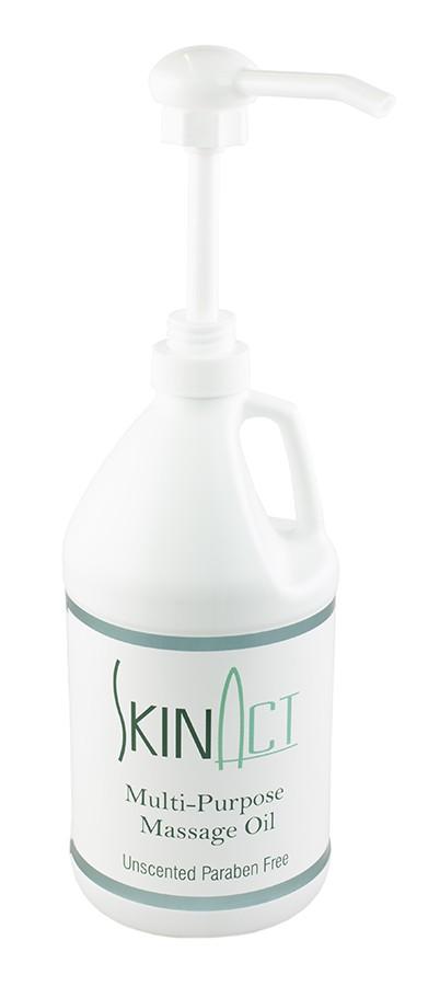 SkinAct Multi Purpose Massage Oil  1/2 Gallon