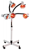 5 Head Infra Red Lamp With Flexible Arms