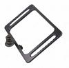 SkinAct Large Rectangular Mirror in Black Color