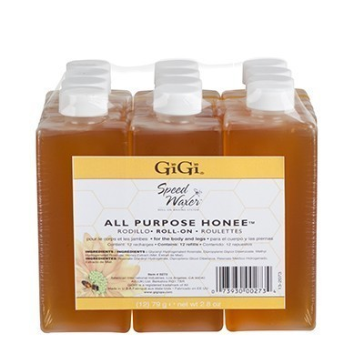 GiGi All purposed Honee Speed Waxer Honee Wax Refill 12 Pk
