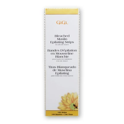 GiGi Bleached Strips Large 100 Pack