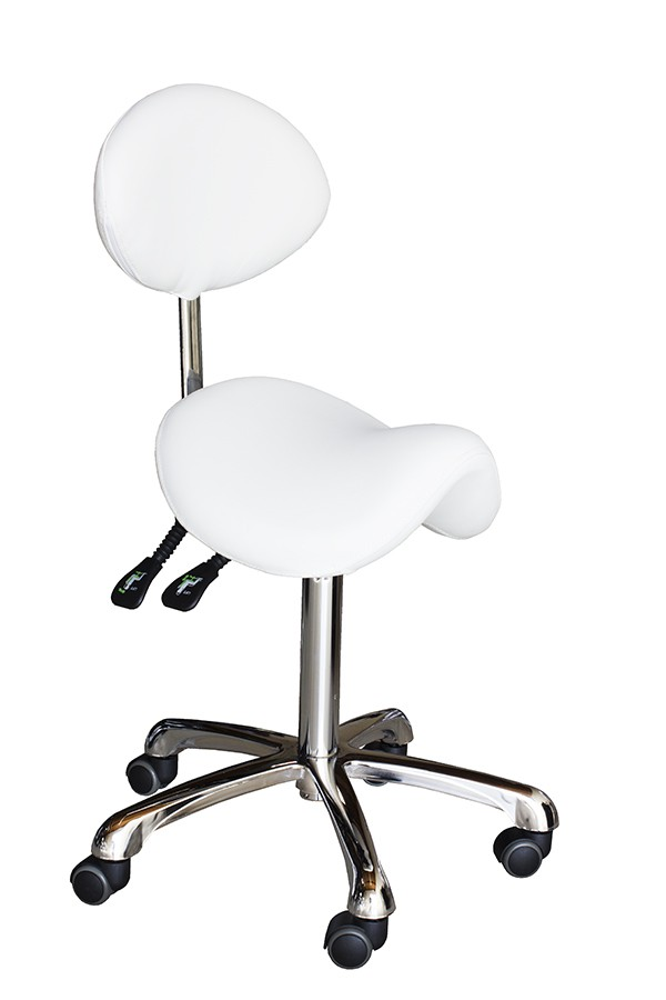 Verona Esthetician Saddle Stool