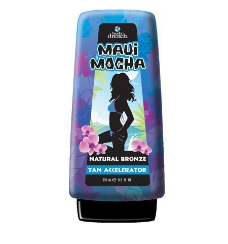 Body Drench Maui Mocha Natural Bronze Tan Accelerator