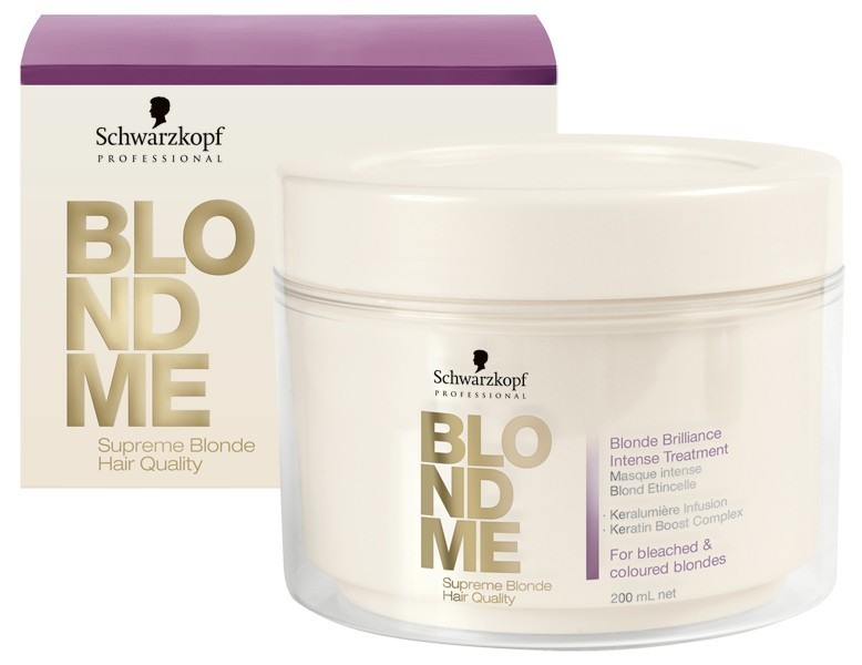 Schwarzkopf Blondme Blond Brilliance Intense Treatment 6.8 fl oz