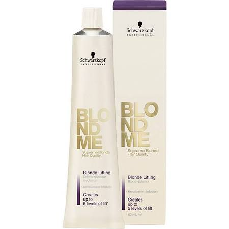 Schwarzkopf Blondme Lifting Cream Caramel