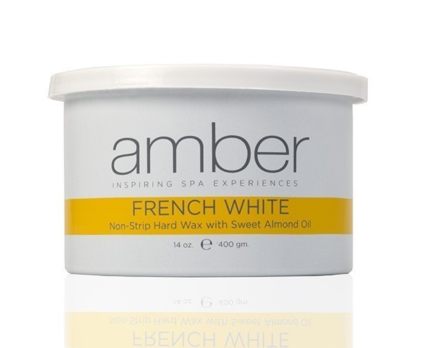 Amber French White Wax