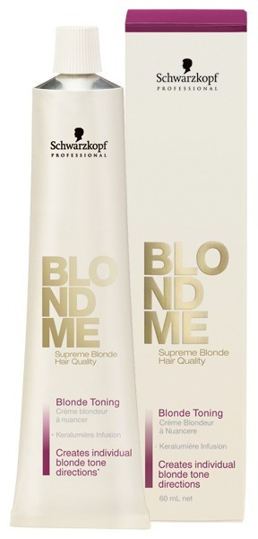 Schwarzkopf Blondme Toning Cream Steel