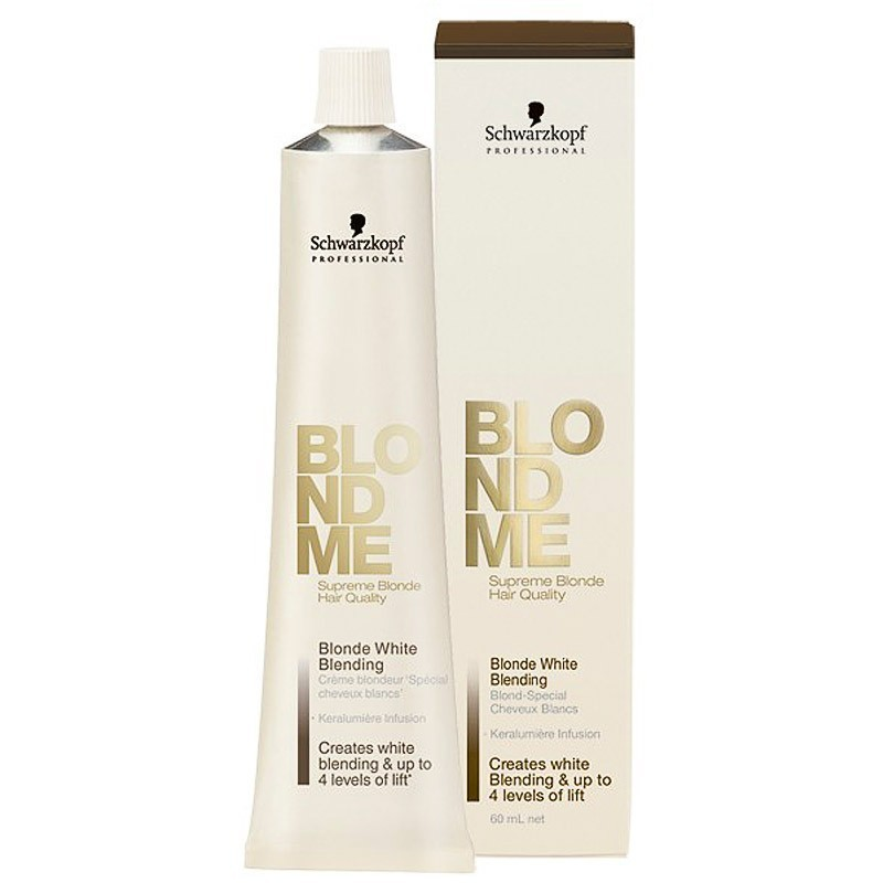 Schwarzkopf Blondme White Blending Cream Ice