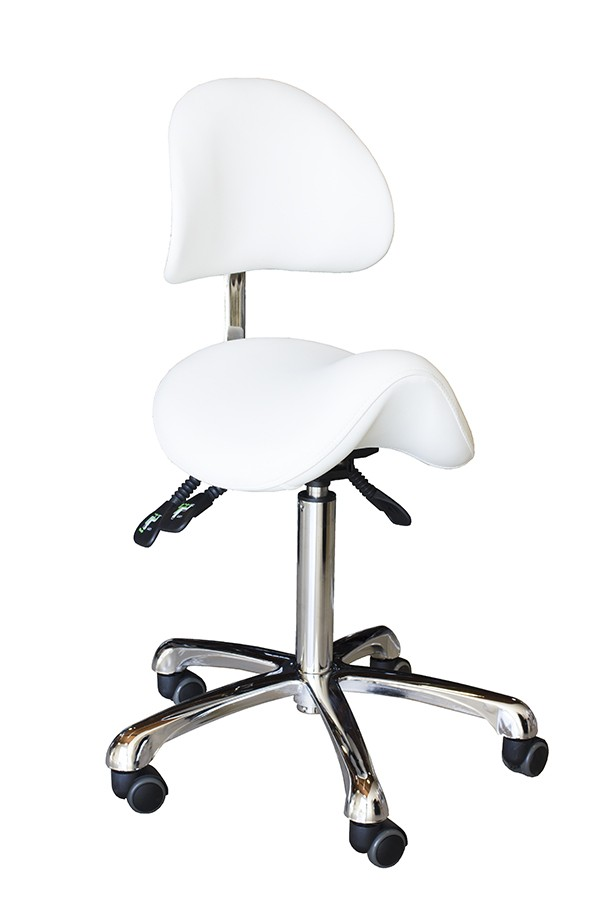 Brava Esthetician Saddle Stool