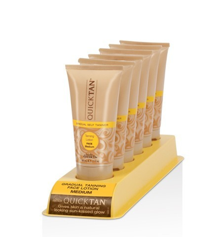 Body Drench Gradual Tanning Lotion Face 6 Piece Display