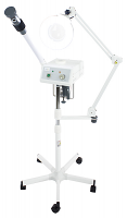 Euro Facial Steamer With Aroma Therapy + LED Magnifying Lamp