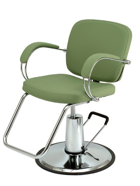 Image gallery salon chairs for Colored salon chairs