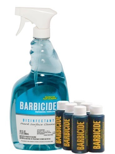 Barbicide Spray Disinfectant Concentrate and Sprayer