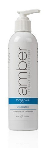 Amber Unscented Massage Oil
