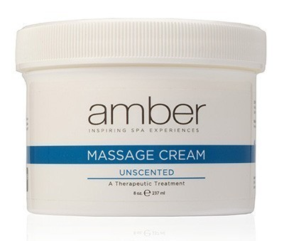 Amber Massage Cream Unscented