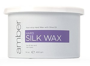 Amber Hard Silk Wax