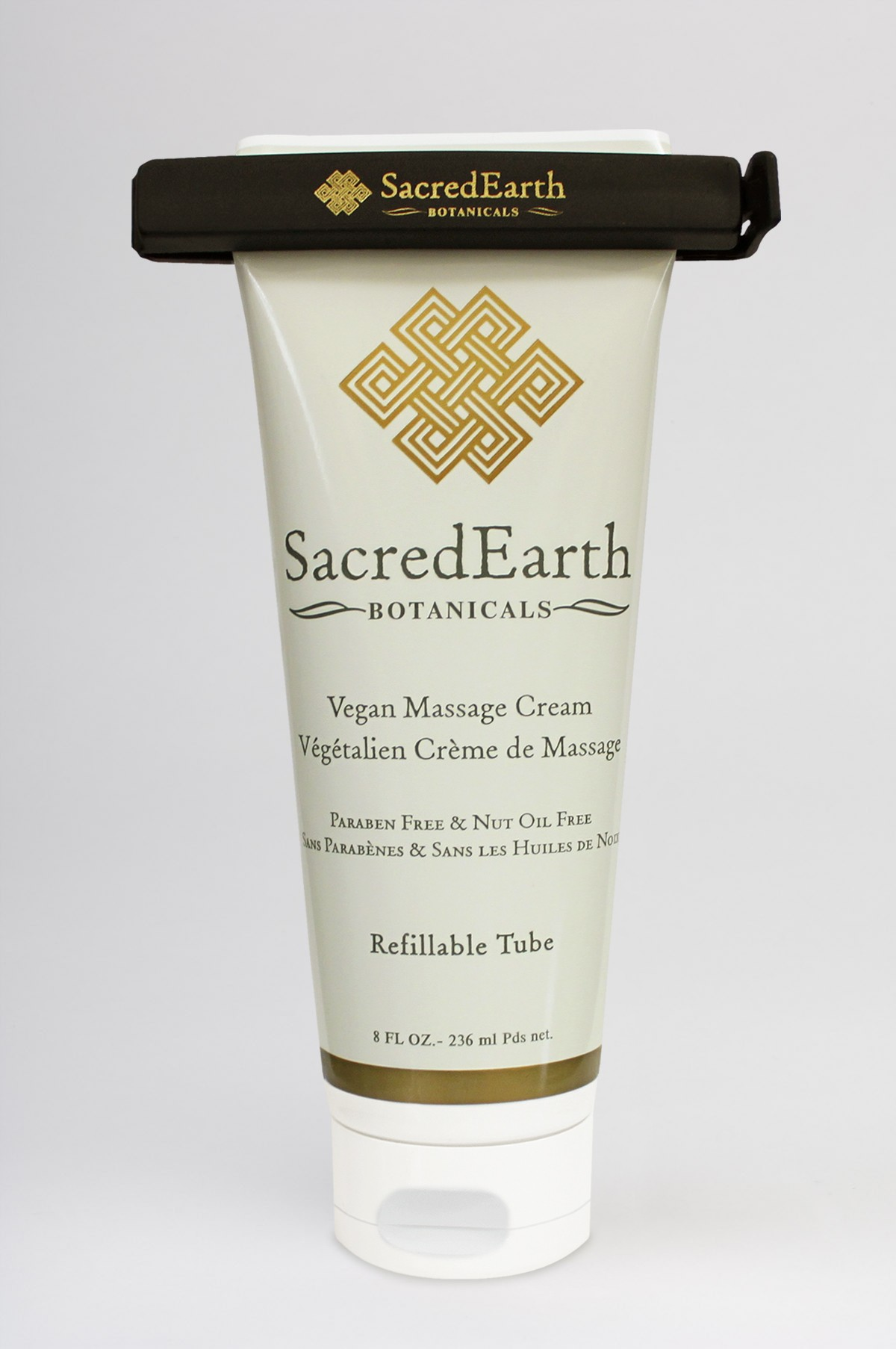 Sacred Earth Vegan Massage Cream 8 oz