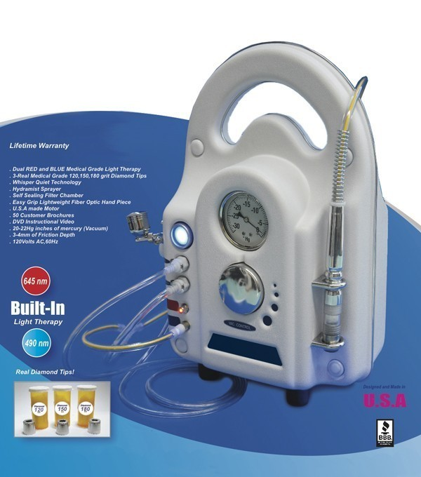 Diamond Microdermabrasion Machine - Made In USA - 5 Years Warranty