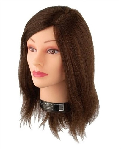 Diane Fiona Mannequin Head With Human Hair