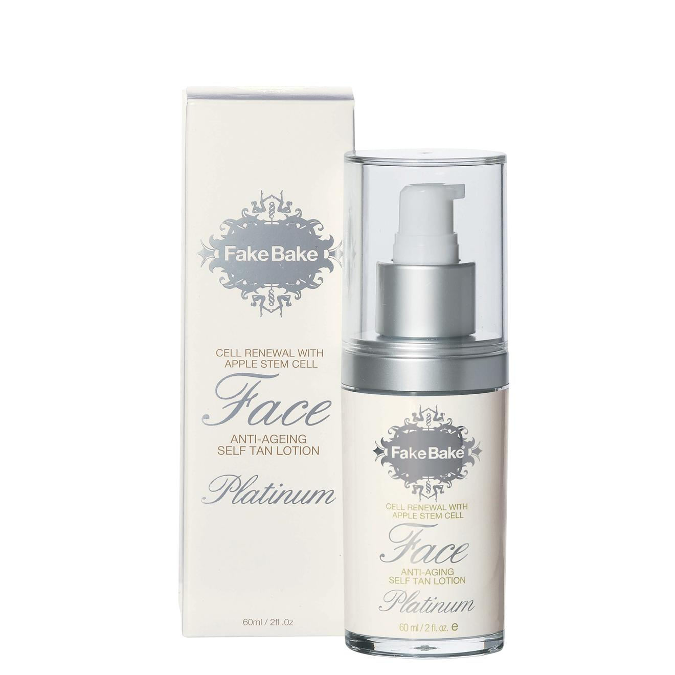 Fake Bake Face Anti-Aging Self-Tan Lotion Platinum  2 oz