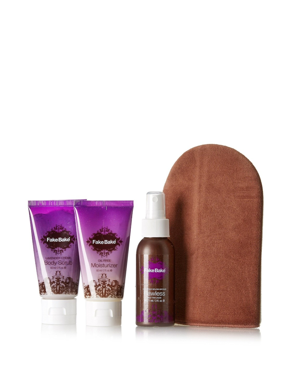 Fake Bake Flawless Travel Kit 3 Piece Set