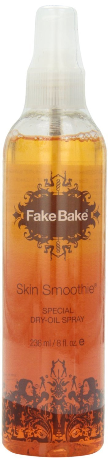 Fake Bake Skin Smoothie Special Dry Oil 8 oz