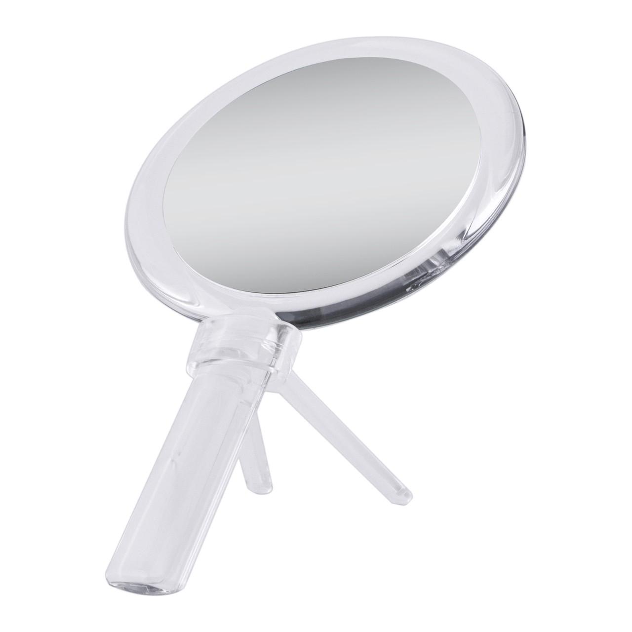 Zadro Acrylic Dual-Sided Hand Held Mirror (1X/7X)