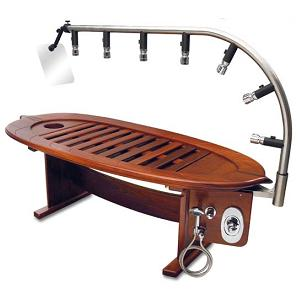 Hydro-wood 7 Vichy Shower System from Hydroco