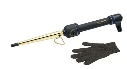"Hot Tools Professional Gold Tapered Curling Iron Medium Rod, 1/2"" - 1"""
