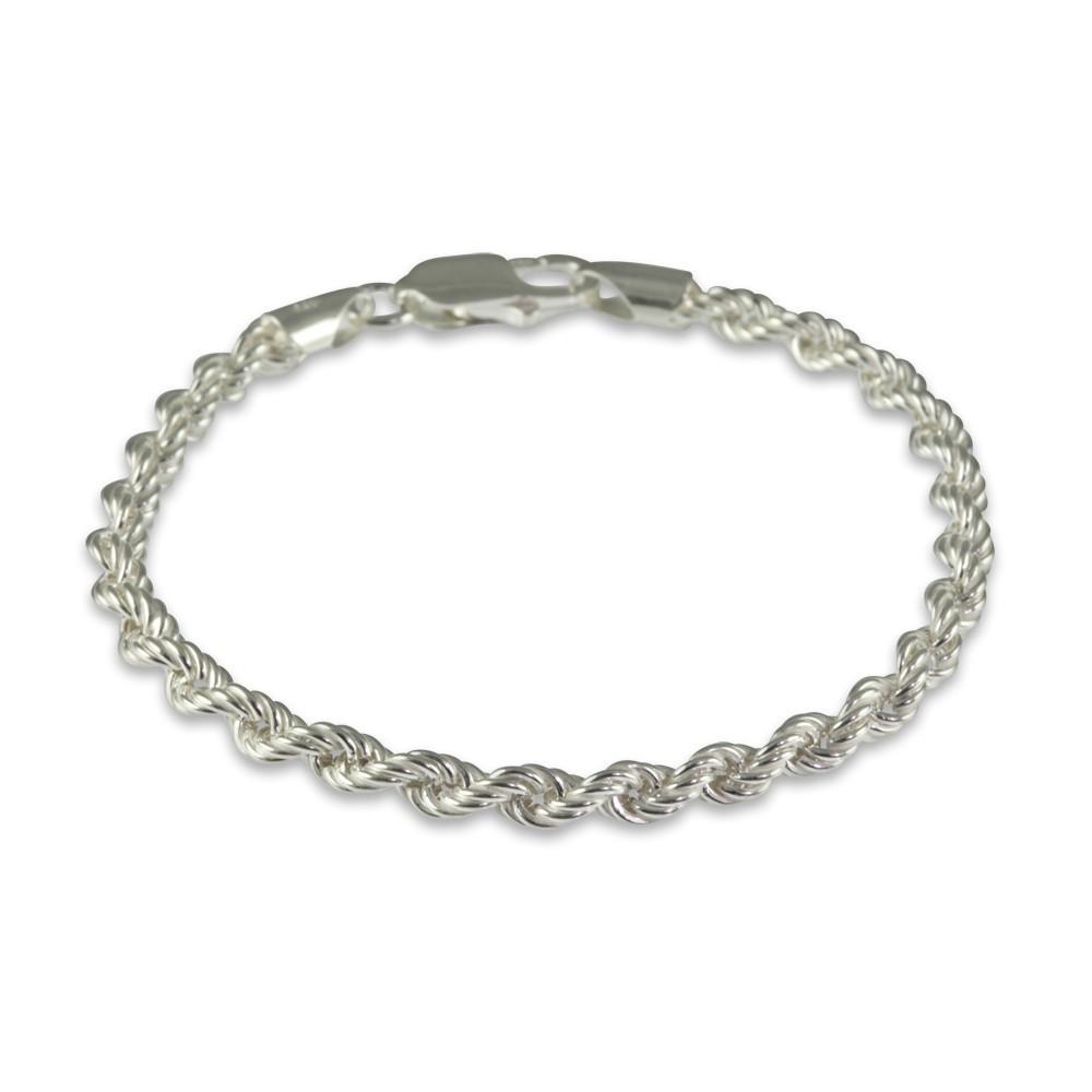 Silver Multi-Strand Twist Bracelet