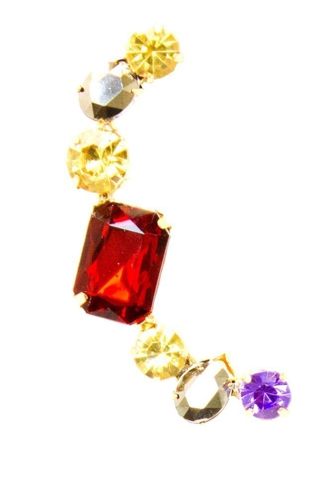Modern Gold Earring Clip