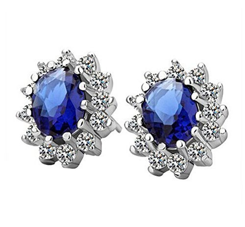 Classic Luxury Zircon Crystal Earrings