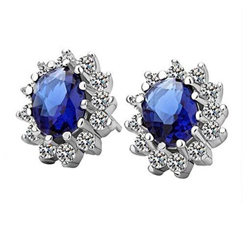 Classic Luxury Zircon Crystal Earrings