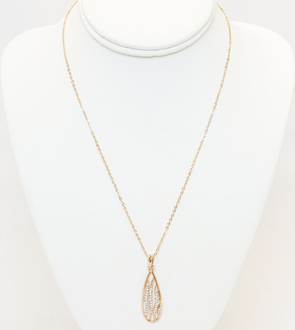 Rose Gold Classic Design Necklace