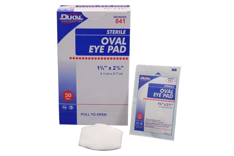 Dukal Oval Eye Pads