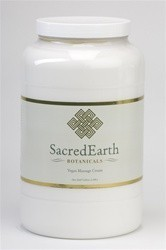 Sacred Earth Vegan Massage Cream 1 Gallon