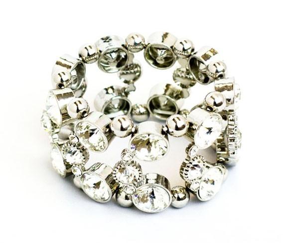 Shiny Round Stones Bracelet