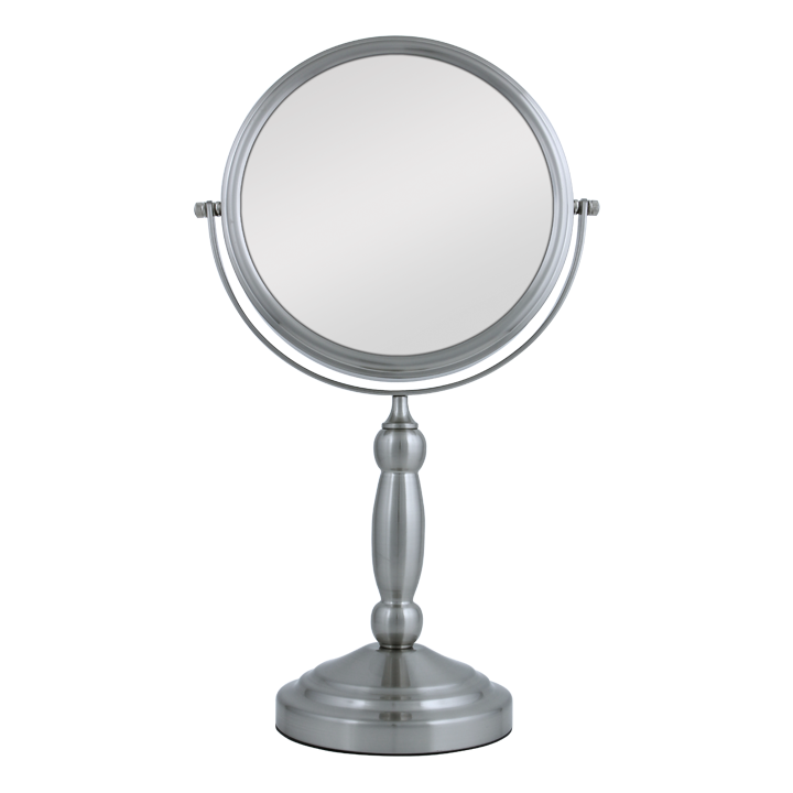 Zadro Two-Sided Vanity Swivel Mirror 1X/10X