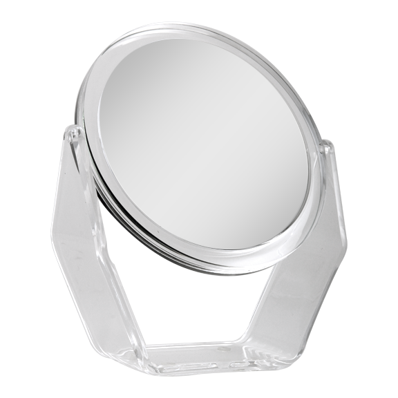 Zadro Acrylic Dual-Sided Swivel Vanity Mirror (1X/5X)