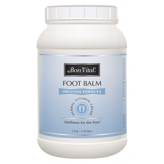 Bon Vital Foot Balm 1 Gallon Jar