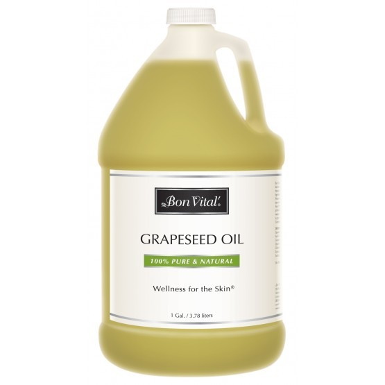 Bon Vital Grapeseed Massage Oil 1 Gallon Bottle